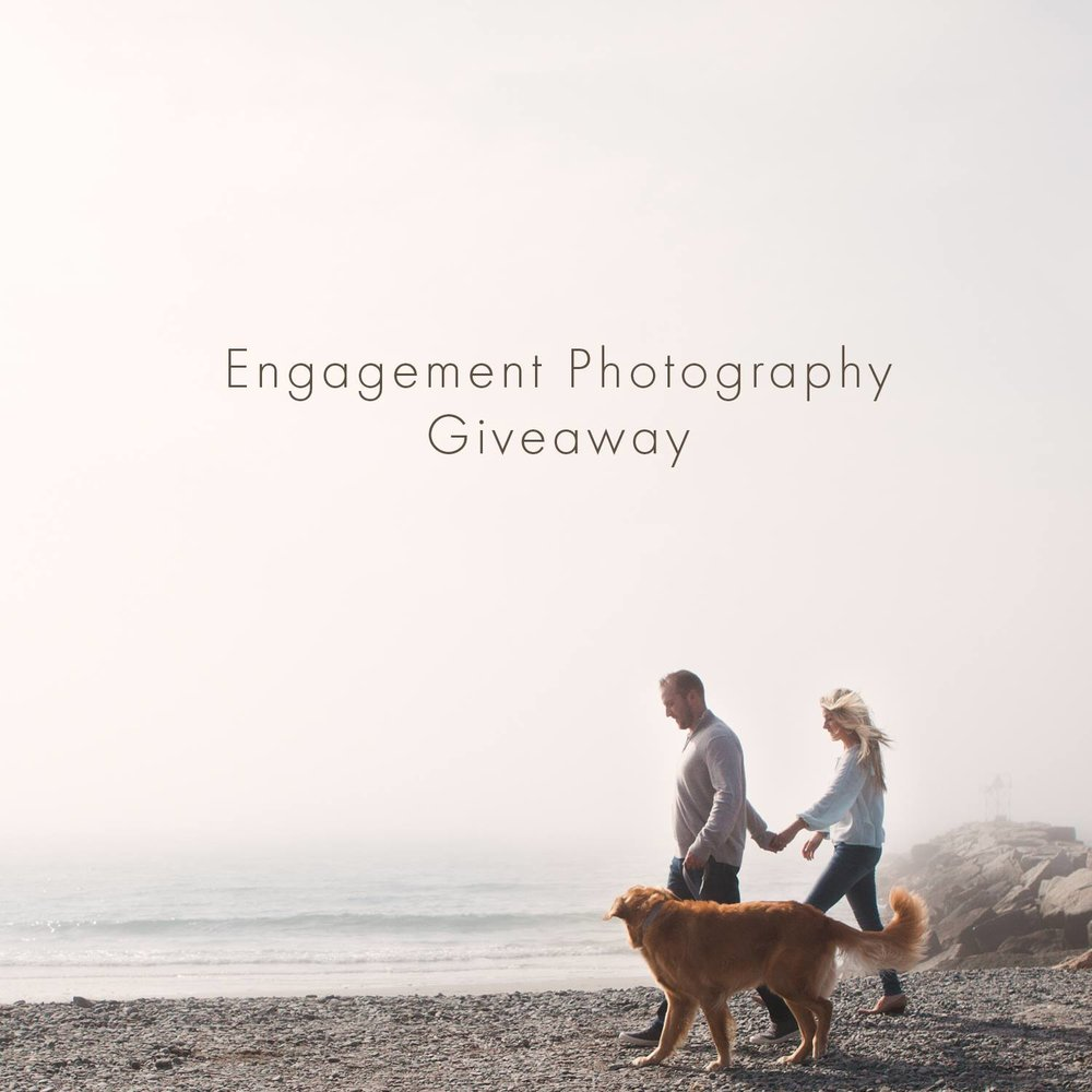 Engagement photography session giveaway Kennebunkport Maine wedding engaged bride surprise proposal.jpg