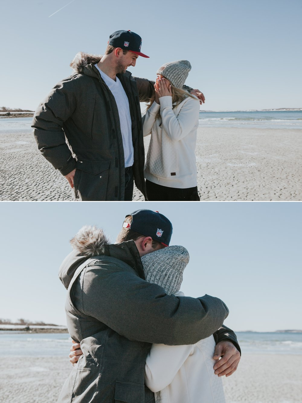 Goose Rocks Beach Kennebunkport Maine Engagement Proposal 3 © Heidi Kirn Photography.jpg