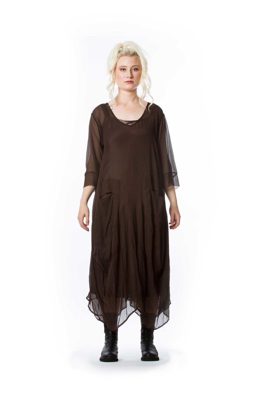 Magnolia Dress + Silk Slip Dress