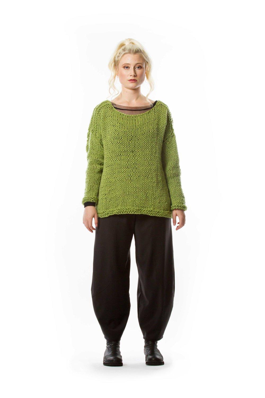 Wool Sweater + Mesh Shirt + Harmonie Pant