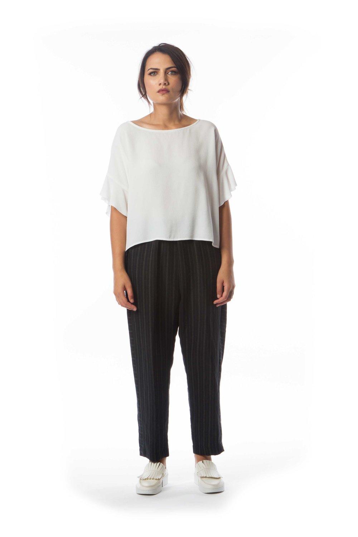 Chikin Top + Kazuki Linen Pant