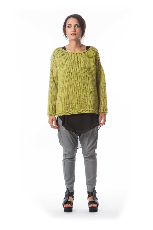 Wool Sweater + Tomo Tunic + Happi Pant