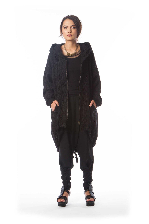 Tengu Hooded Jacket + Mesh Shirt + Origami Pant