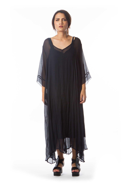 Essential Slip Dress + Kujaku Dress
