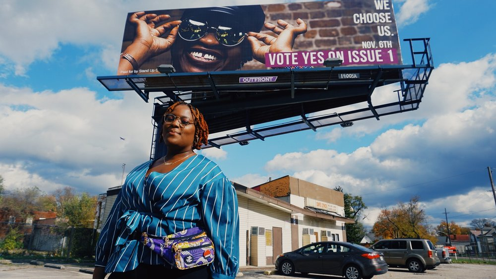 Billboard photo by  Shon . Billboard design by Amber J. Phillips