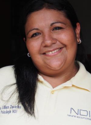 Lic. Lilliam Zacarías, Staff Psychologist, Nicaragua