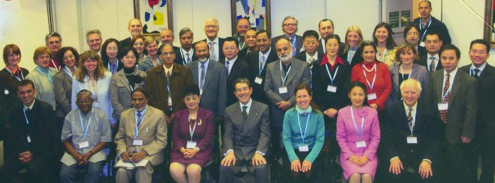This photo pictures representatives from Ayurveda, Naturopathy, Unani Tib and Chinese Medicine professionals around the world, as well as the WHO Traditional Medicine team.  Final edits were given to the WHO in November of 2006 - the above document was published by the WHO in 2010, and reflect a significantly different document than that submitted.