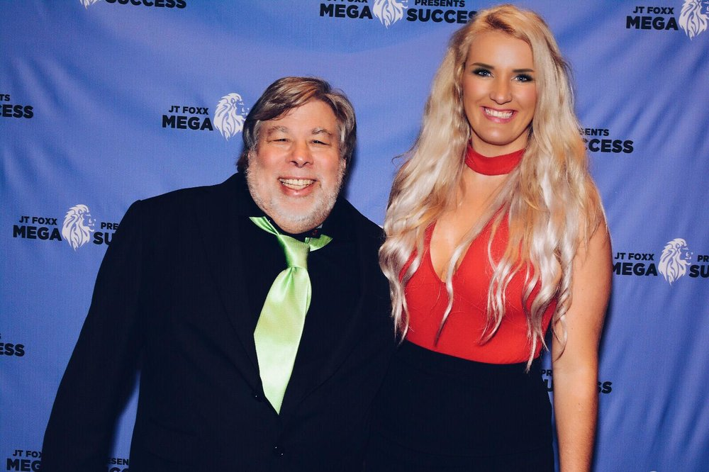 Steve Wozniak & Erna Basson