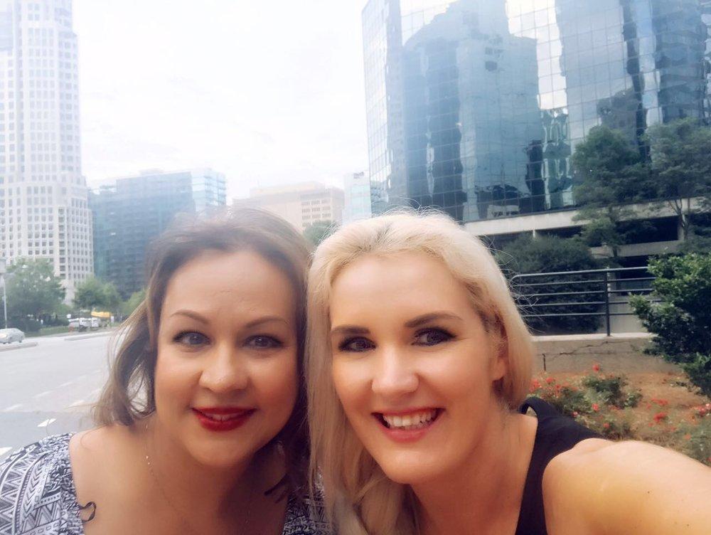 Woman Entrepreneur - Suham Alexander and Erna Basson.JPG