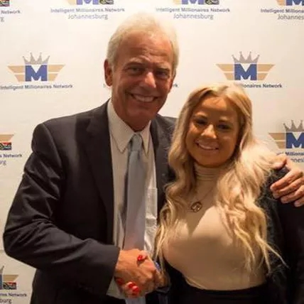Billionaire, Hugh Hilton and Natalie Riley