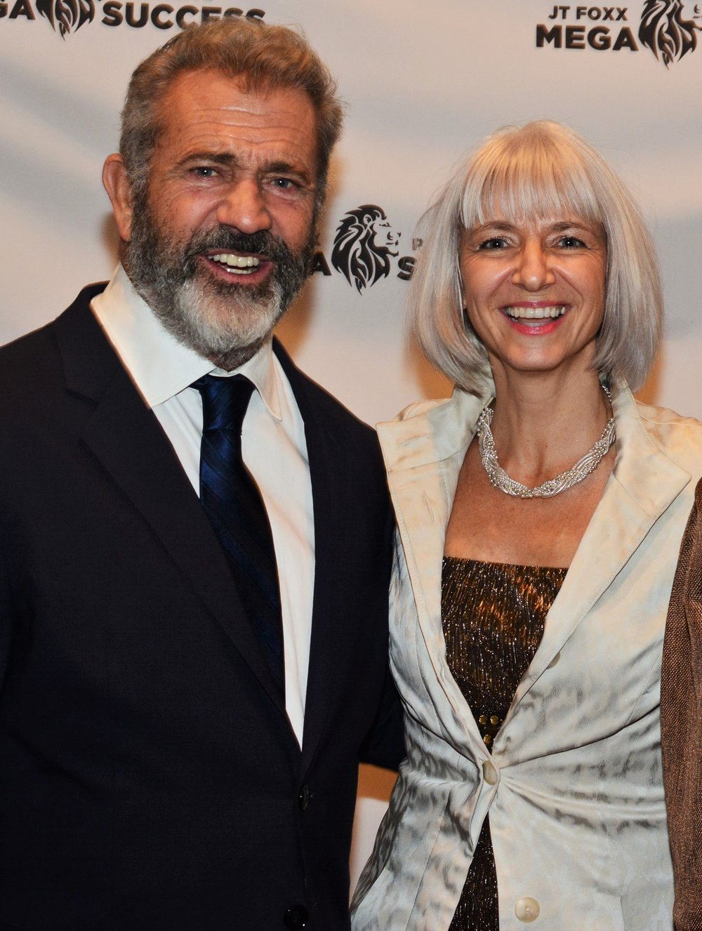 Stéphanie Rottet and Mel Gibson