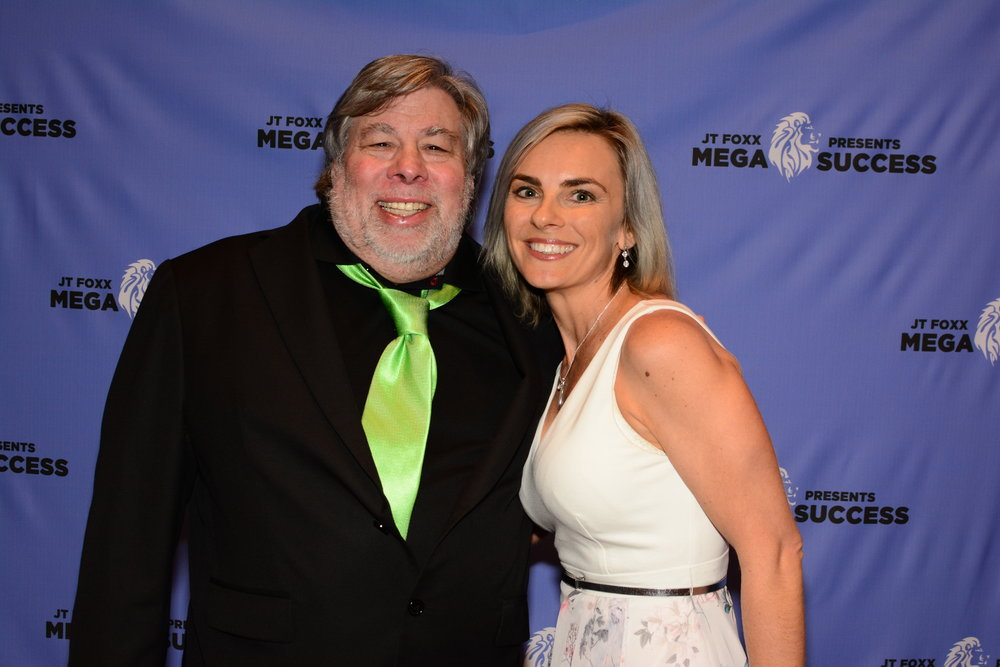 Daniella Princi with Steve Wozniak
