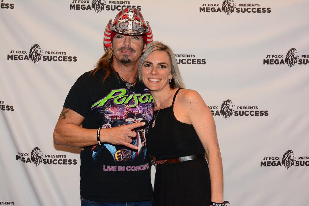 Danniella Princi with Bret Michaels