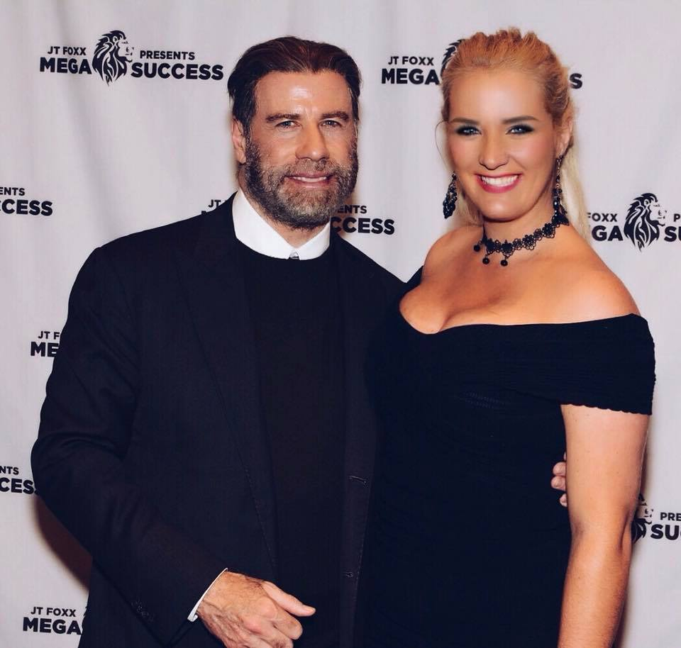 John Travolta & Erna Basson