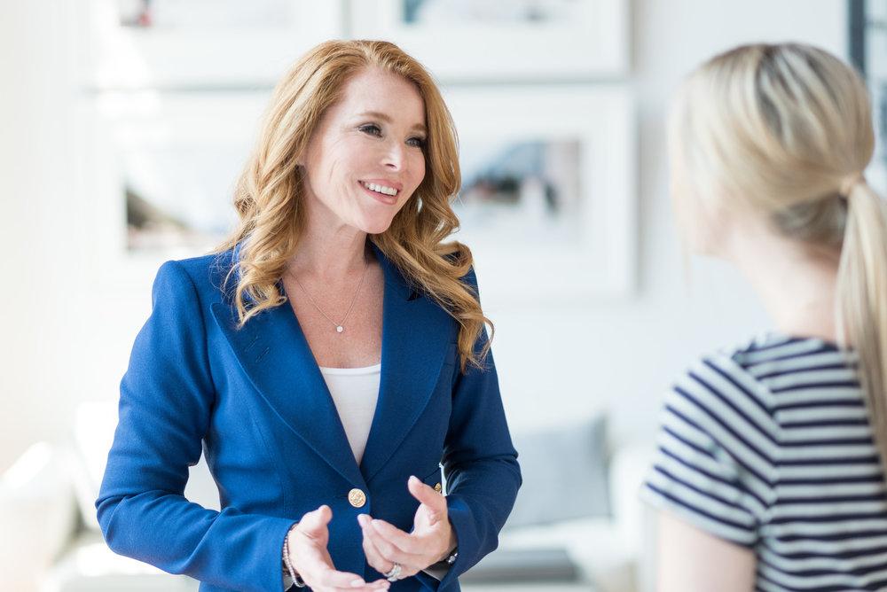 Christine Nielsen - Woman Entrepreneur - Contrast Coaching