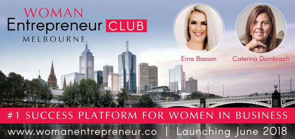 Woman Entrepreneur Melbourne Club