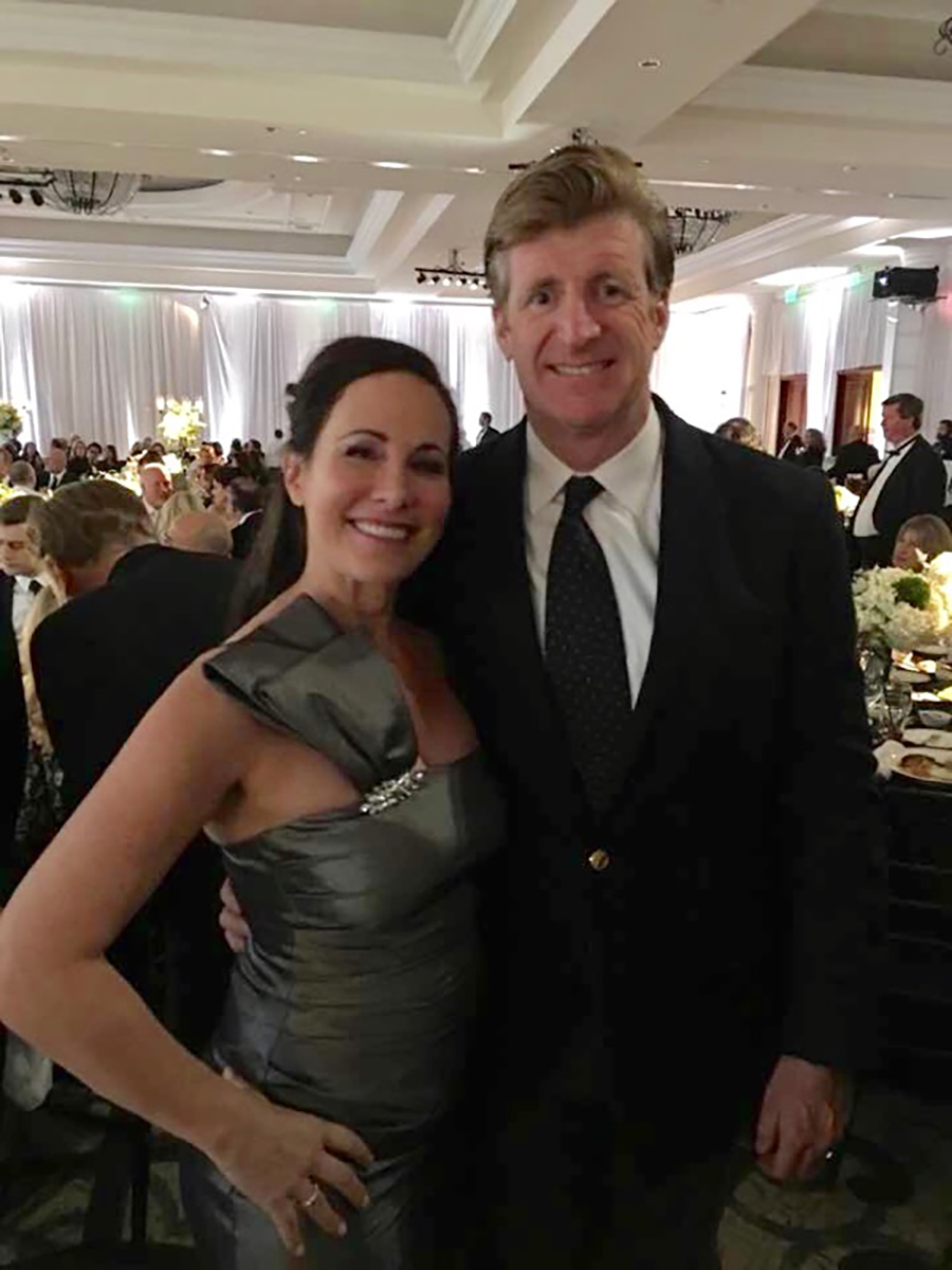 With Patrick Kennedy, American Politician