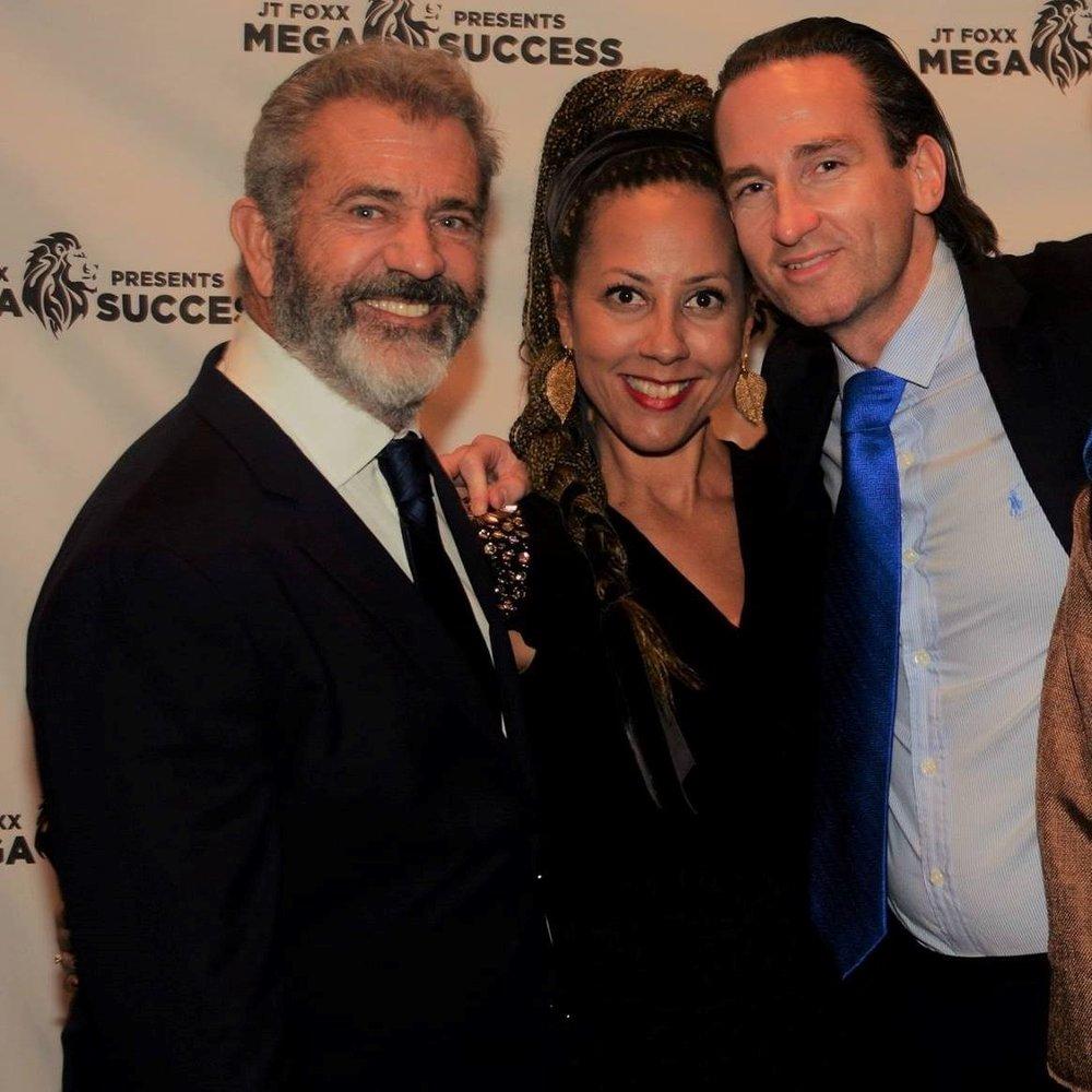 Mel Gibson, Helena and Thomas