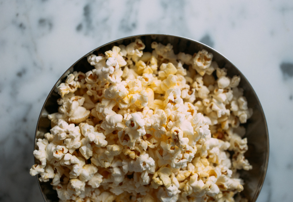 Popcorn for the many hours of Netflix-ing!