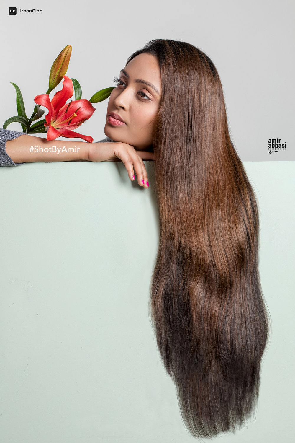Creative Hair Shot | Model: Arshita Shrivastava | Photograher: Amir Abbasi | Makeup: Govind Gupta