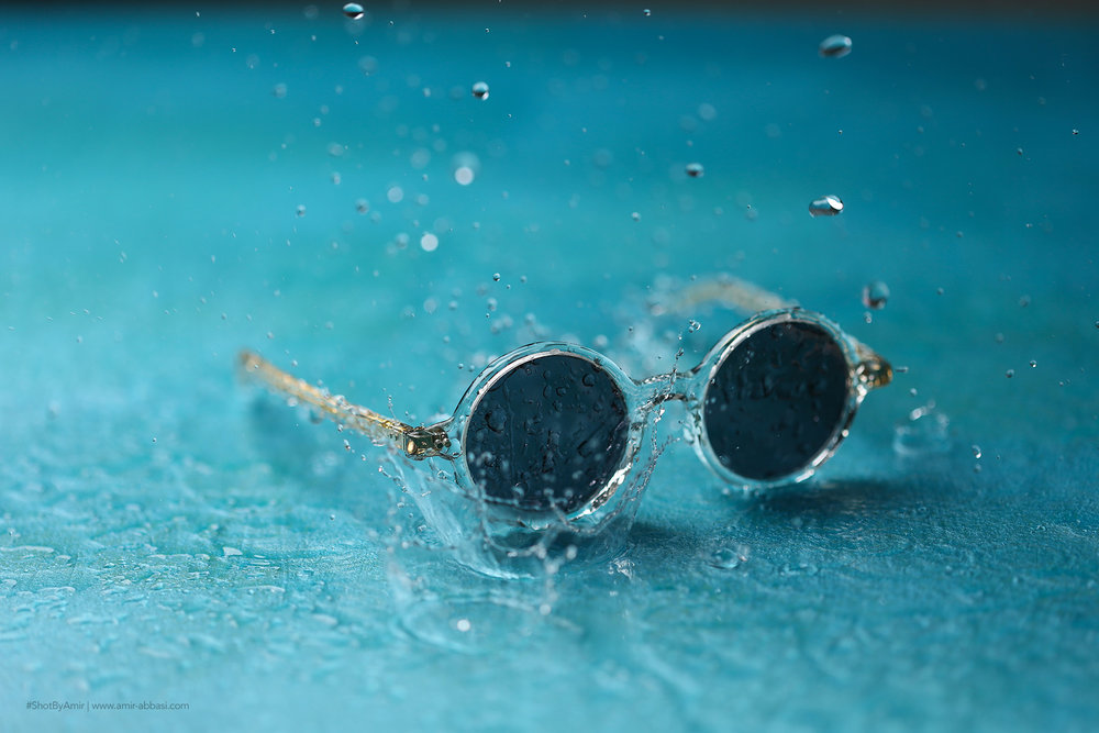 Eyewear Product Photography by Amir Abbasi