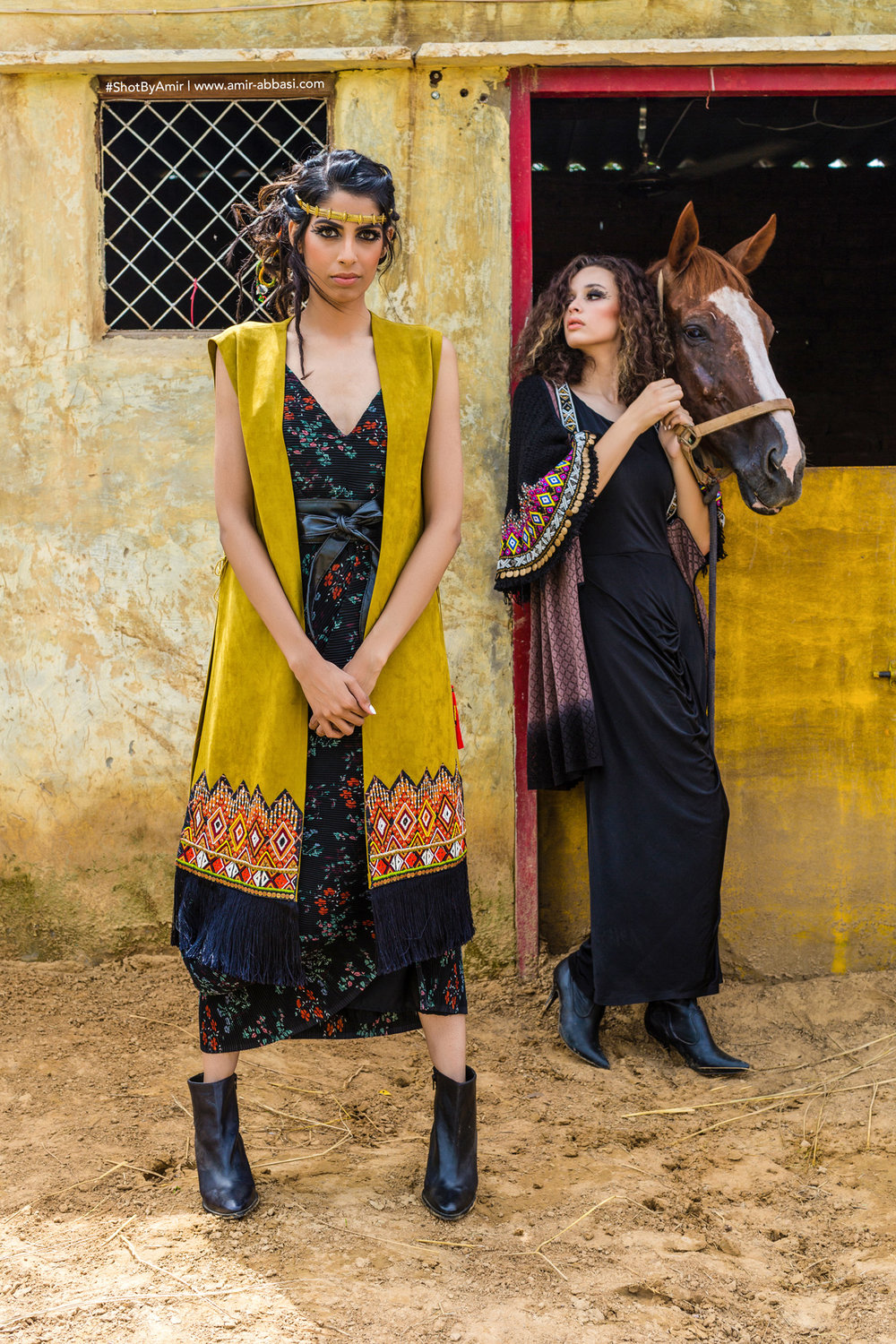 Fashion photoshoot for designer look book in Delhi