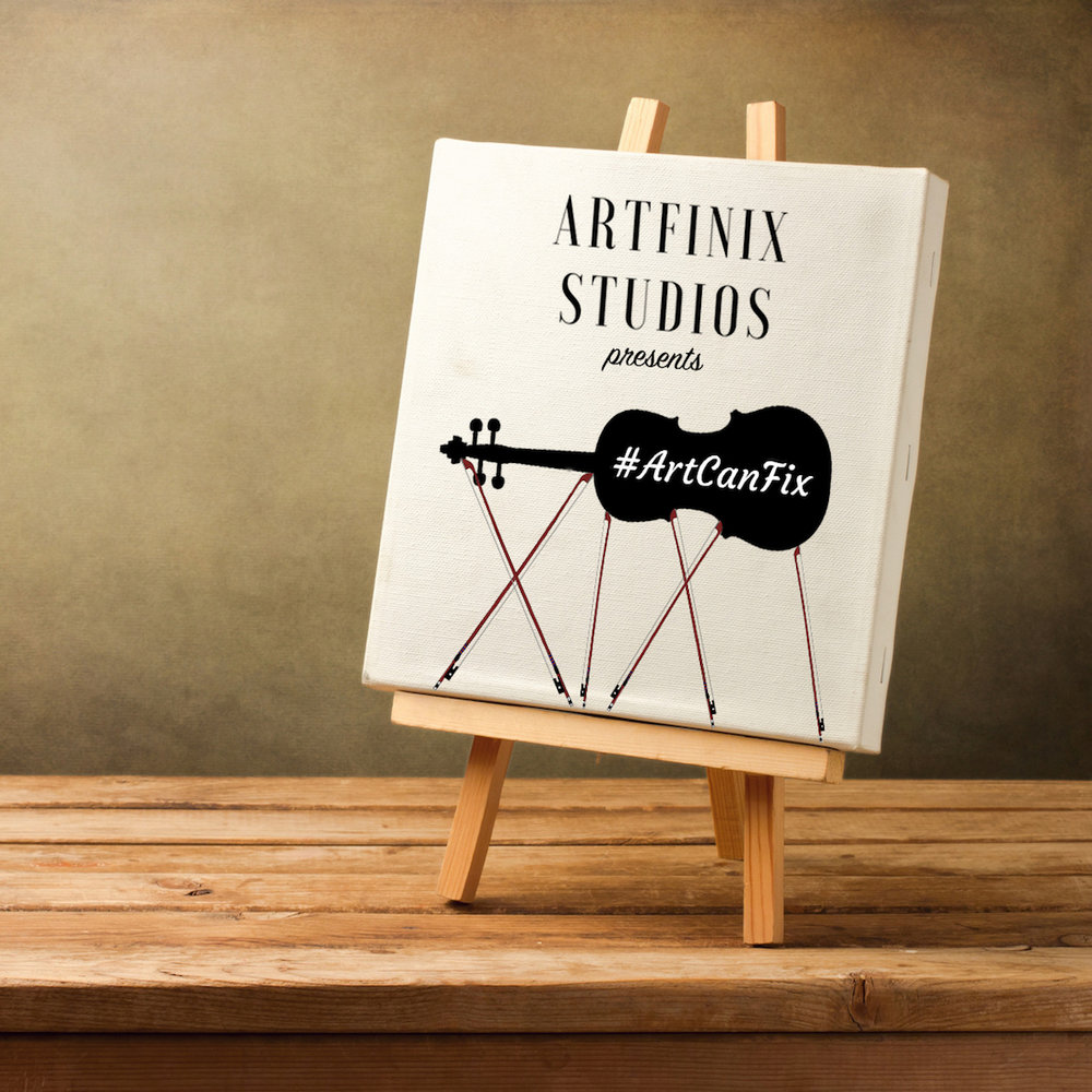 #ArtCanFix - #ArtCanFix is a show about art, artists, and how artists use art and have used art to fix themselves and others. #ArtCanFix is the Artfinix Studios flagship podcast.