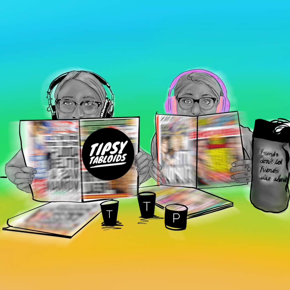 Tipsy Tabloids - Tipsy Tabloids is a show about two friends getting tipsy, and talking celebrity gossip. Learn what you never wanted to know about all your favorite celebrities.