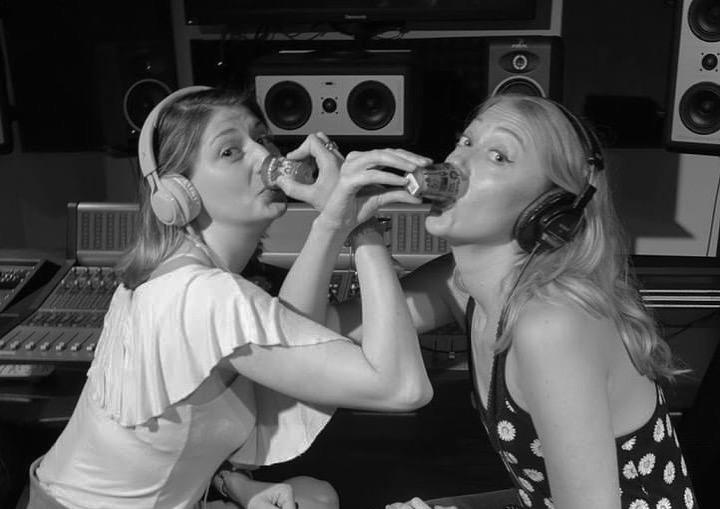 Kit Rivers & Heidi Cheek   Hosts of   Tipsy Tabloids