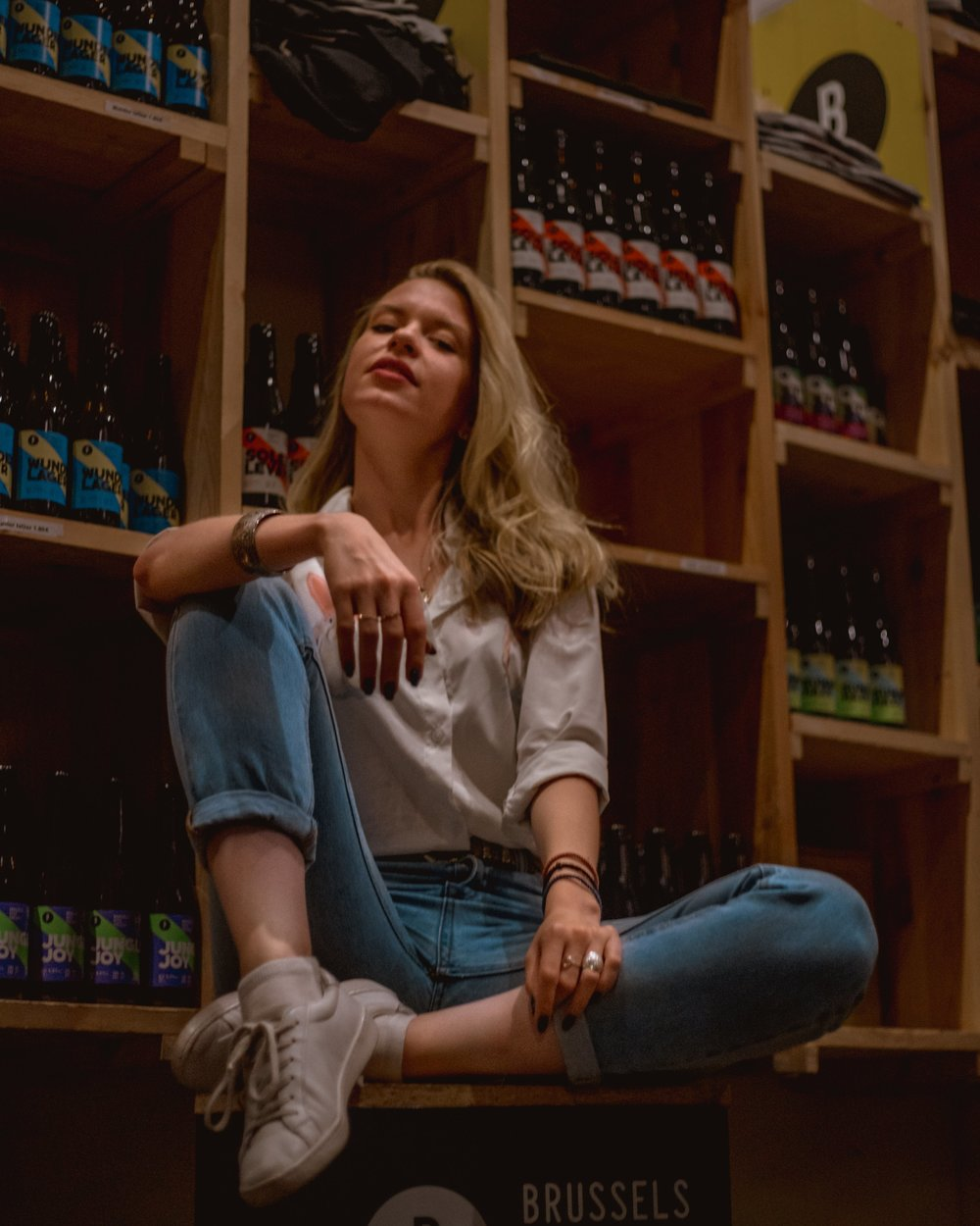 Me being Da Queen at Bxl Beer Project - Check out the full post on my IG