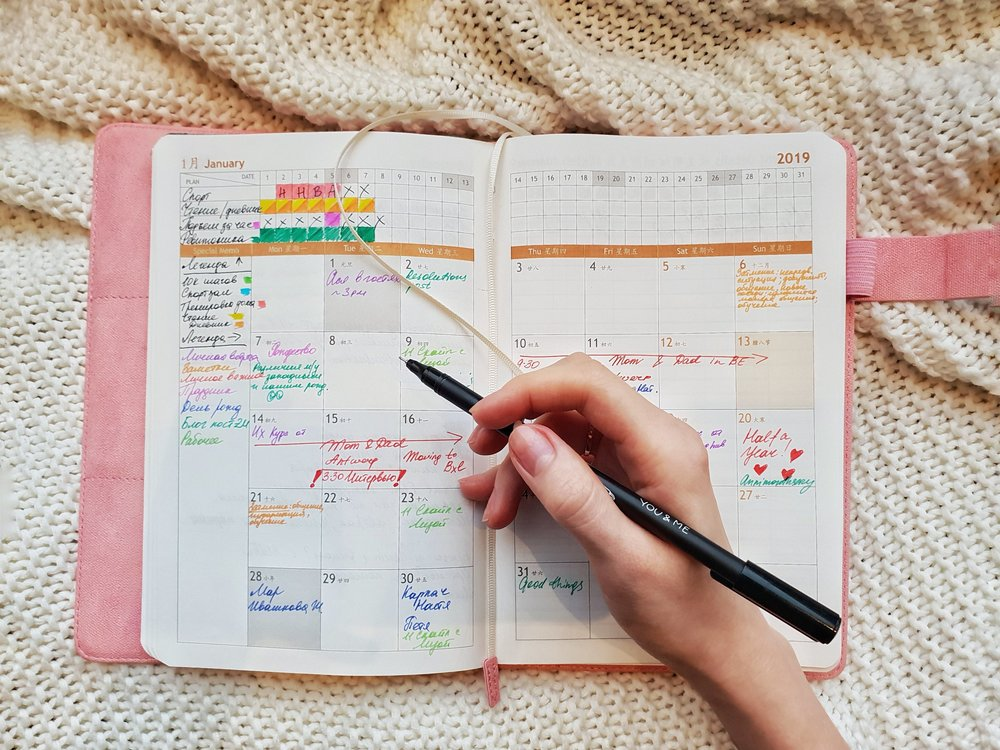 how i organize my planner agenda plan with me how to stay accountable productive productivity manage to do планнер как вести ежедневник организация продуктивность