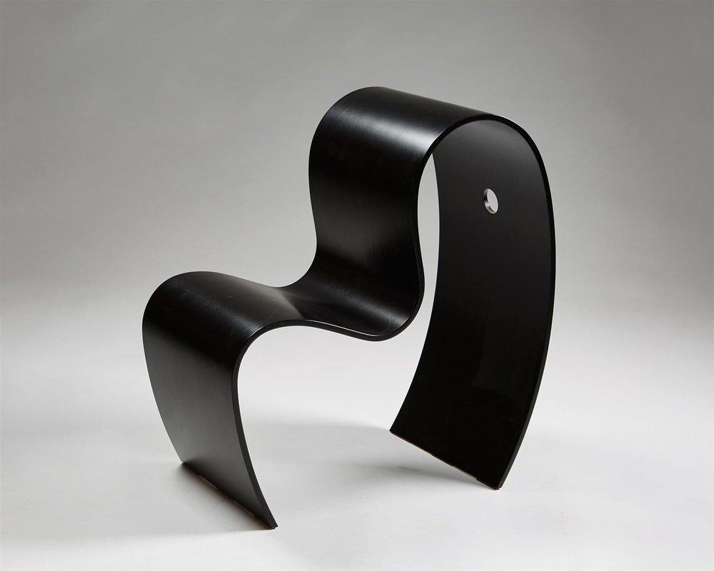 Children's chair, Lilla M. Designed by Caroline Schlyter, Sweden. 1990's