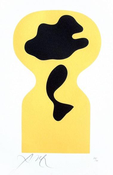 Jean Arp - Soleil Recerclé. Around the Sun. 1962-65.