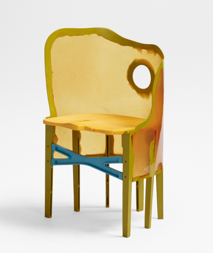 Gaetano Pesce Open Sky Crosby chair