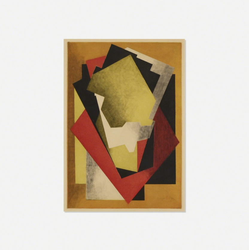 Jacques Villon Composition, 1927 Aquatint on wove paper