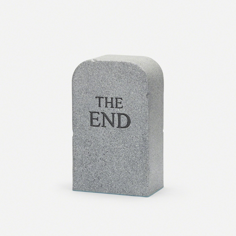 Maurizio Cattelan The End, 2014 Polyurethane foam with Guflac