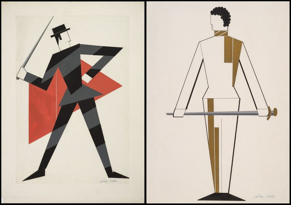 alexandra_exter_Othello - costume design - (Swordsmen) by A Exter, 1927.jpg