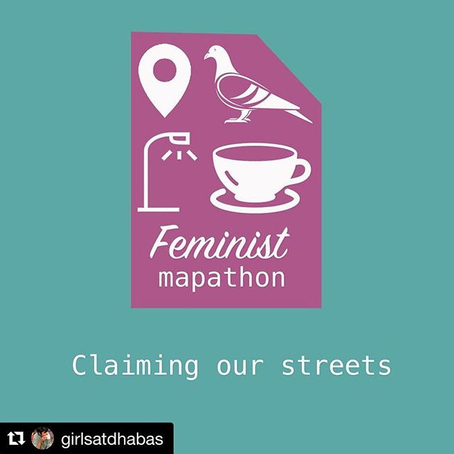Go go go @girlsatdhabas ! Repost @girlsatdhabas ! ・・・ CLAIMING OUR STREETS! Feminist Mapathon coming soon!!! Watch our social media spaces over the next few days for more information on this exciting new project! ✊🏽🚦🏏🌲🐩🌈 #girlsatdhabas #feministmapathon
