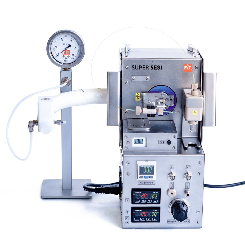 Breath research SESI HRMS secondary electrospray ionization mass spectrometry
