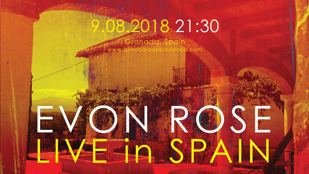 LIVE in SPAIN9.08.2018 - 9.08.2018 GRANADA21:30 www.almazaradepaulenca.com