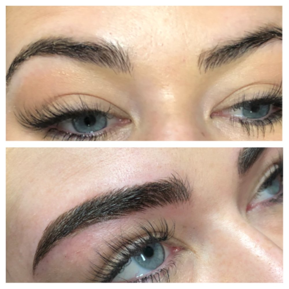 Eyebrow Feathering T Cosmetics Studio