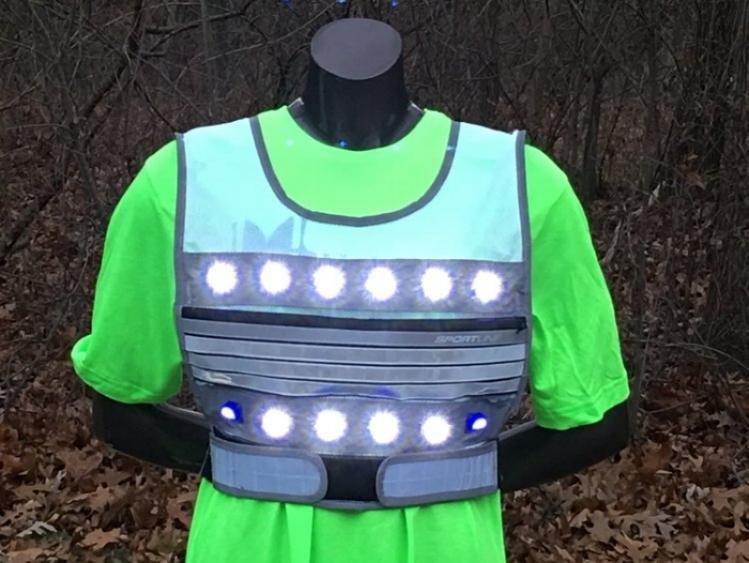 LED Light Vest Flash Small
