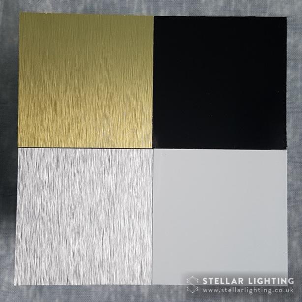Panel colour options