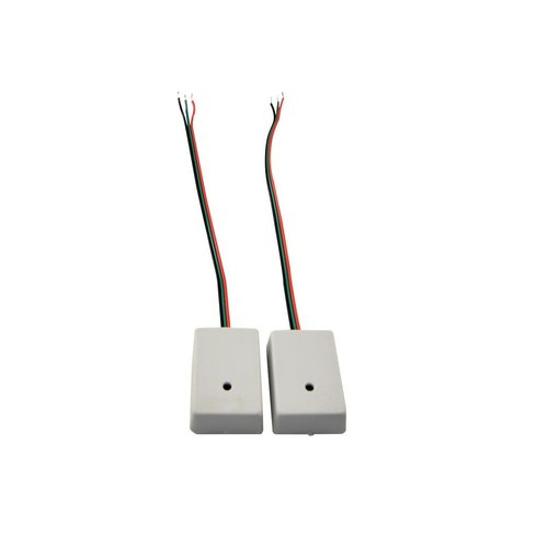Surface mounted <p>These sensors are small and light and are stuck in place using double sided adhesive tape or glue.