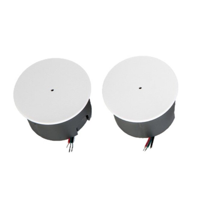 Flush mounted These recessed sensors come with a back box and can be placed inside an electrical boxes