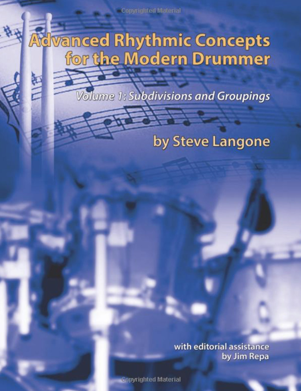Volume 1 - The book introduces rhythmic concepts that can be used by drummers or any musician to expand his or her rhythmic repertoire for improvisation or composition. It combines concepts taught to the author by Alan Dawson with South Indian Konnakol syllables. It is a comprehensive study of polyrhythms that allows drummers to delve deeply into modern rhythmic concepts.Available from Amazon.com as softcover book.Available from Amazon.com as Digital - Kindle book.Paperback: 200 pagesLanguage: EnglishISBN-10: 1499374593ISBN-13: 978-1499374599Product Dimensions: 8.5 x 0.5 x 11 inchesTable of Contents PDFVideo demonstrations of excerpts from Vol 1.