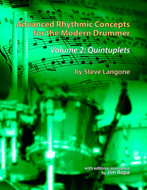 Volume 2 - This is the 2nd volume in a series of books on rhythmic concepts for drummers and all musicians. The books are tools for expanding a musician's rhythmic repertoire for improvisation or composition. Both volumes combine concepts taught to the author by Alan Dawson with South Indian Konnakol syllables, delving deeply into a study of polyrhythms. Volume 1 focused on rhythms with a subdivision of 8th notes, 8th note triplets and quarter note triplets. Volume 2 focuses on quintuplets (16th note, 8th note and quarter note).Available from Amazon.comas softcover book.Available from Amazon.comas Digital - Kindle book.Series:Advanced Rhythmic Concepts for the Modern Drummer (Book 2)Paperback:112 pagesLanguage:EnglishISBN-10:1535141794ISBN-13:978-1535141796Product Dimensions:8.5 x 0.3 x 11 inchesTable of Contents PDFVideo demonstrations of excerpts from Vol 2.