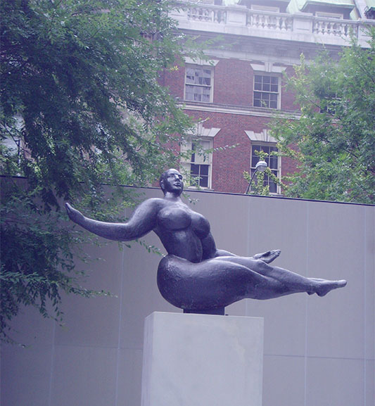 Lachaise, Floating Figure