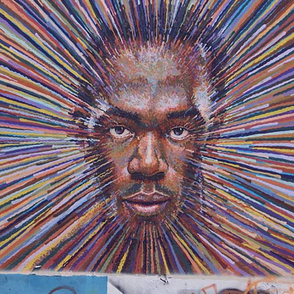 street Art Cochran Usain Bolt