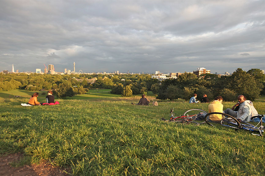 Hampstead Heath. Photo by Vincent Halleux